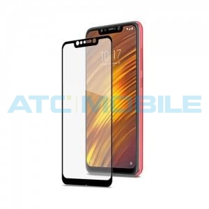 Celly Full Glass Xiaomi Pocophone F1, černé