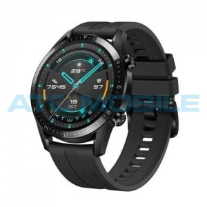 Huawei Watch GT 2 Black Fluoroelastomer Strap - demo