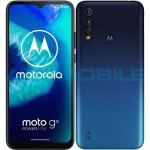 Motorola Moto G8 Power Lite (4/64GB) modrá (Royal Blue)