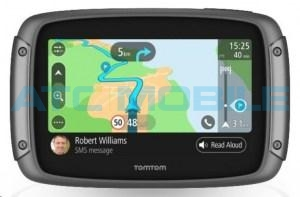 TomTom RIDER 500 Europe LIFETIME mapy (45 zemí)